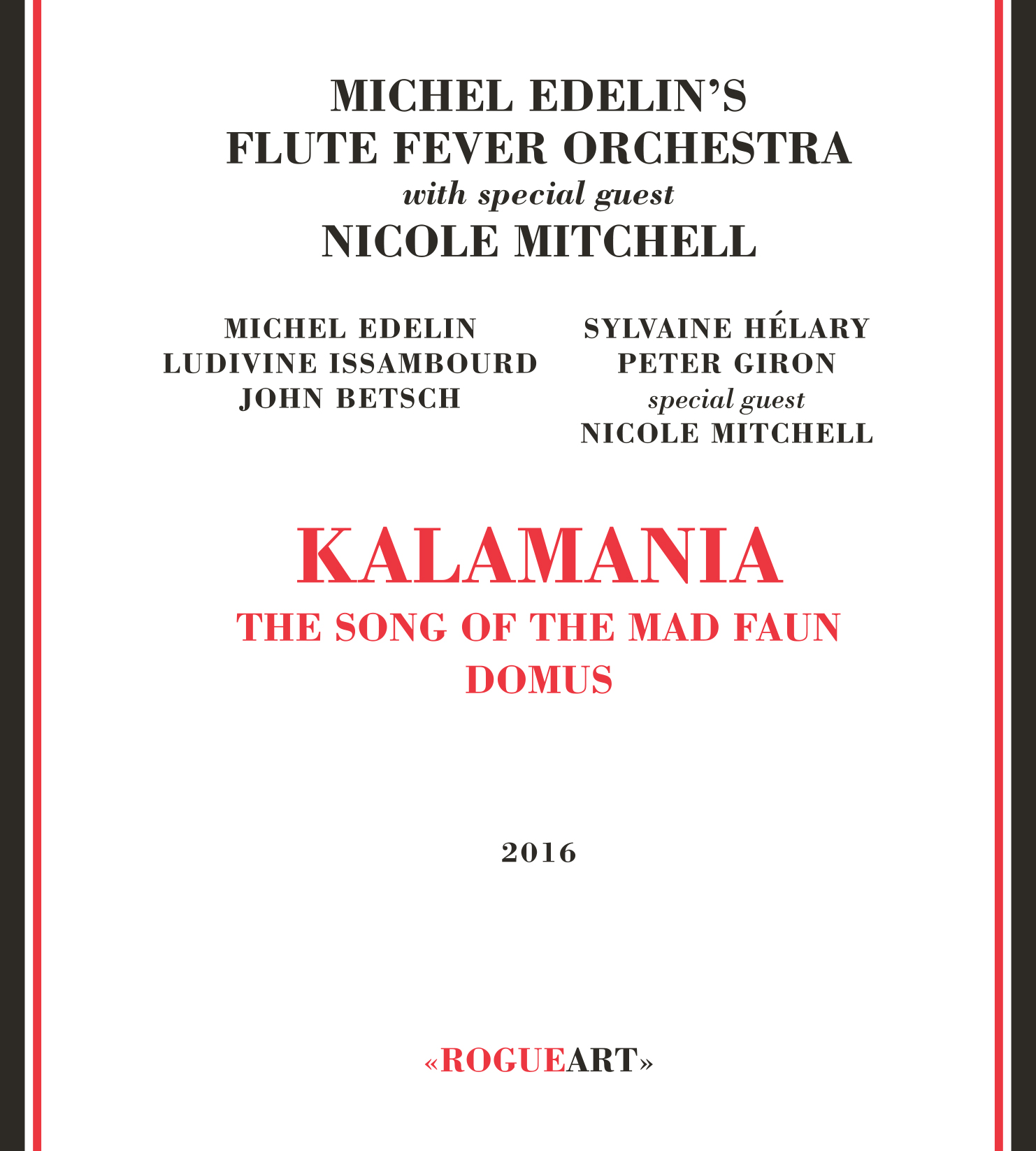 Front cover of the album KALAMANIA