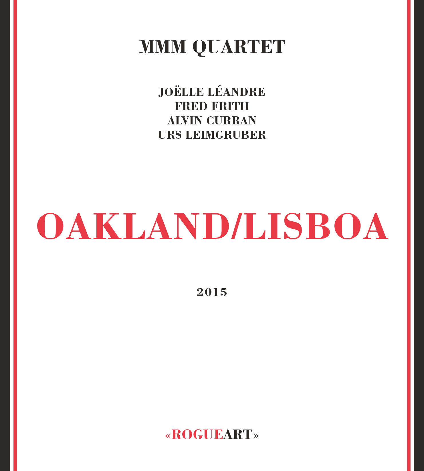 Front Cover of the Album OAKLAND/LISBOA