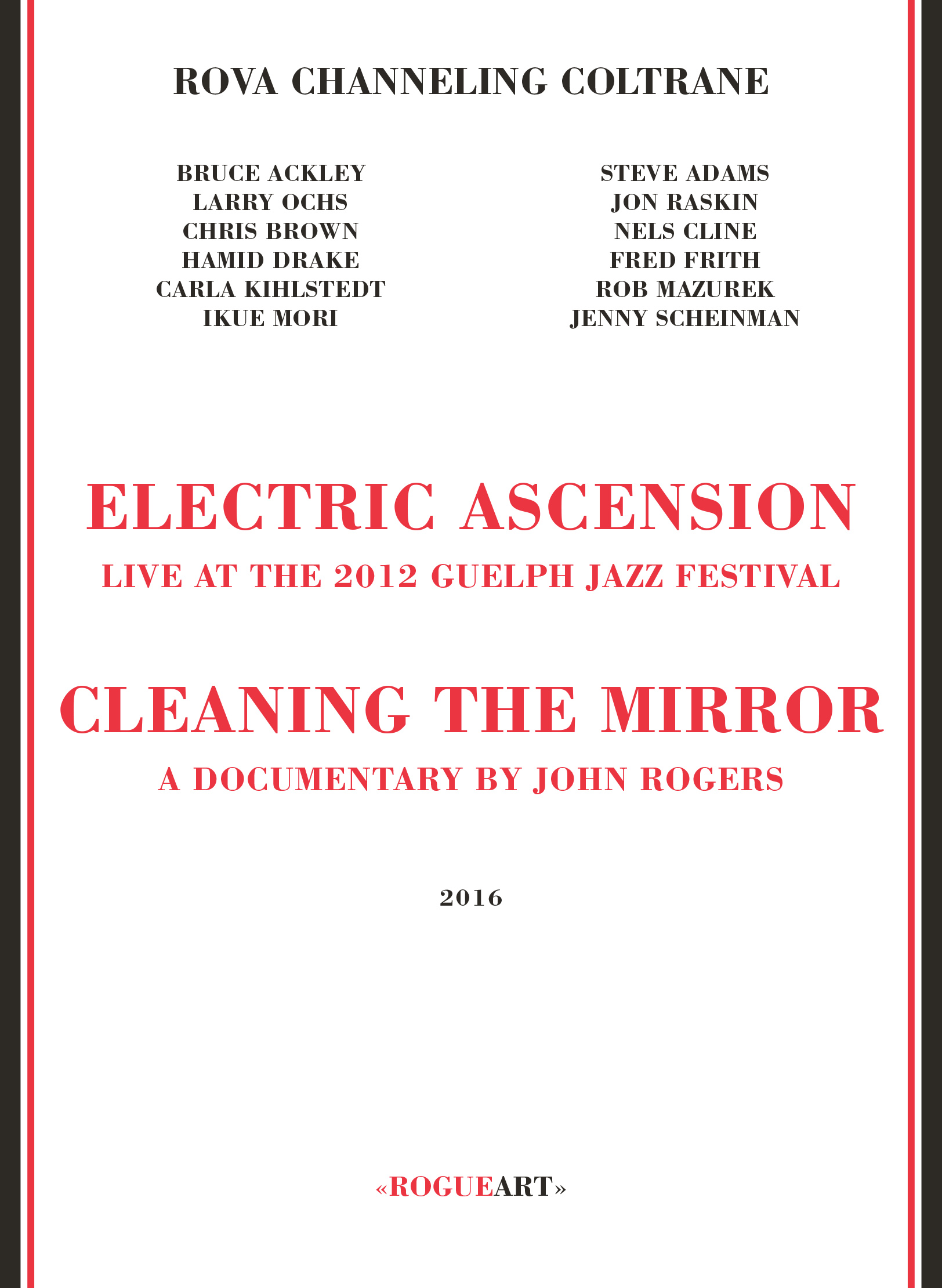 Front cover of the album ELECTRIC ASCENSION