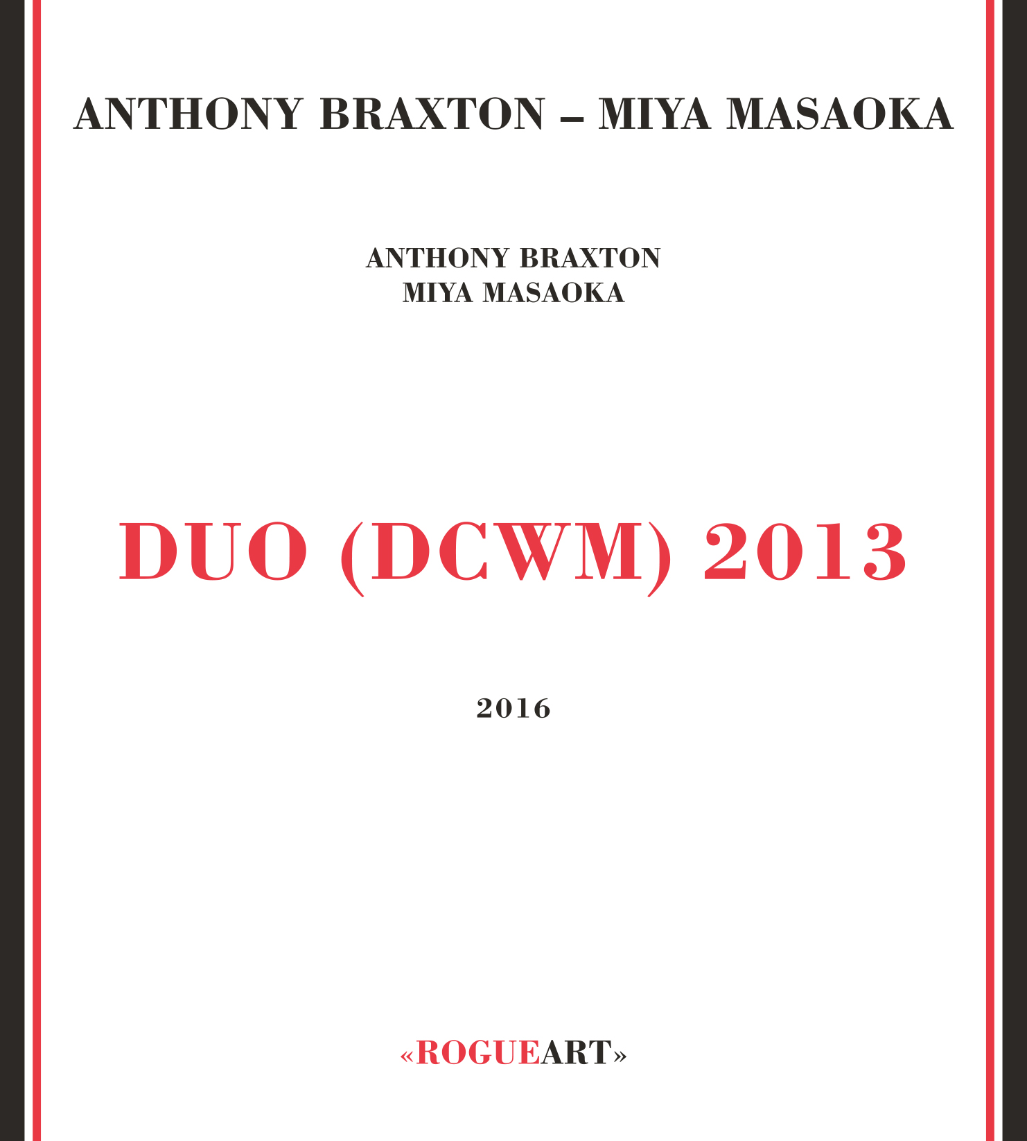 Front cover of the album DUO (DCWM) 2013