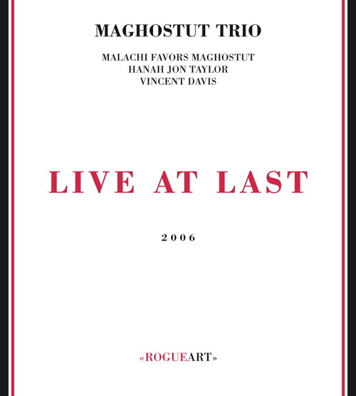 Front cover of the album LIVE AT LAST