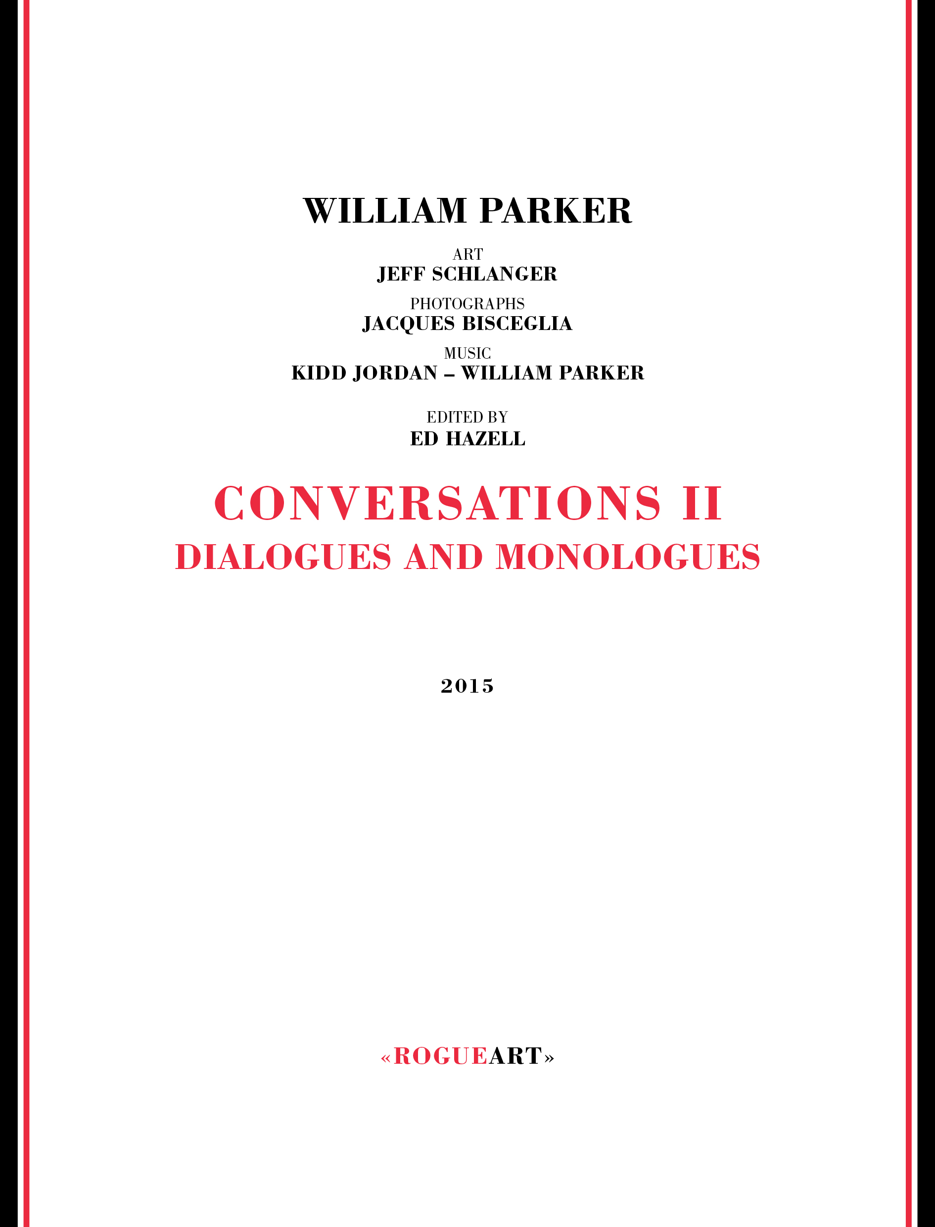 Front cover of the book CONVERSATIONS II - MONOLOGUES AND DIALOGUES