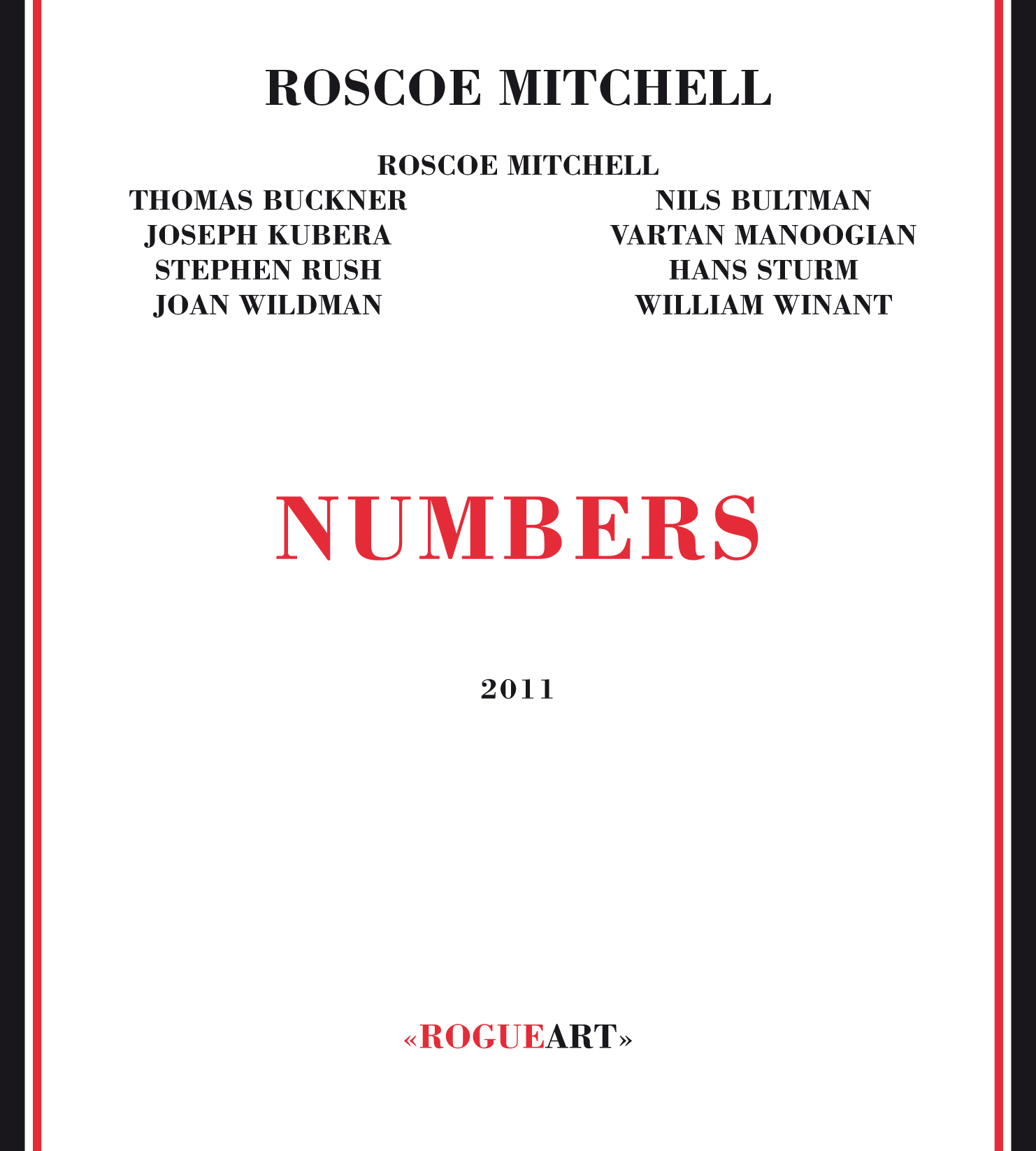Front cover of the album NUMBERS