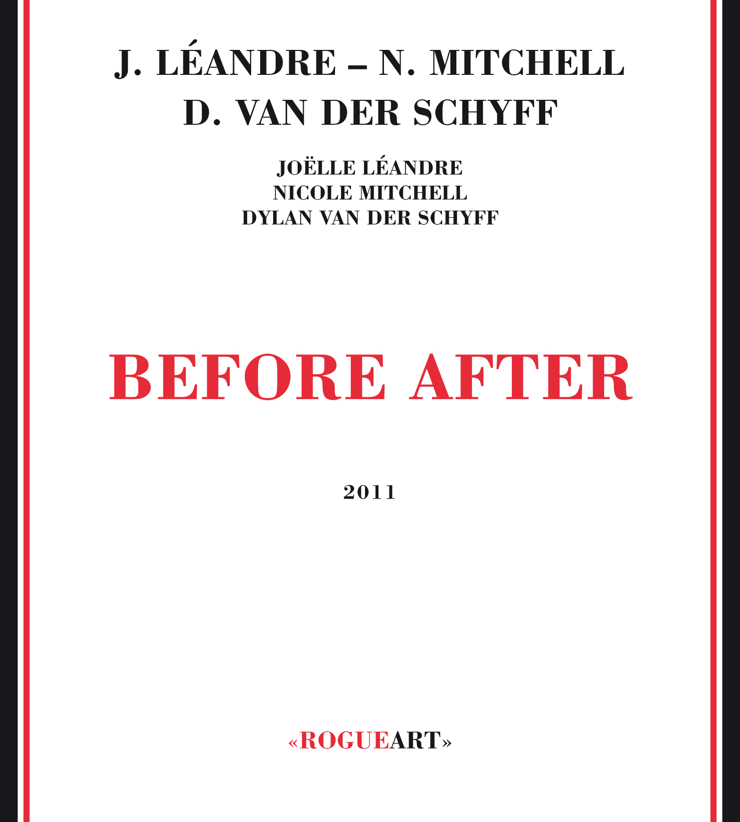 Front cover of the album BEFORE AFTER