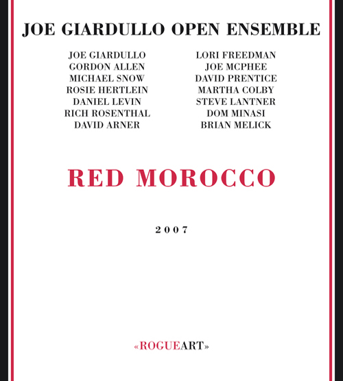 Front cover of the album RED MOROCCO