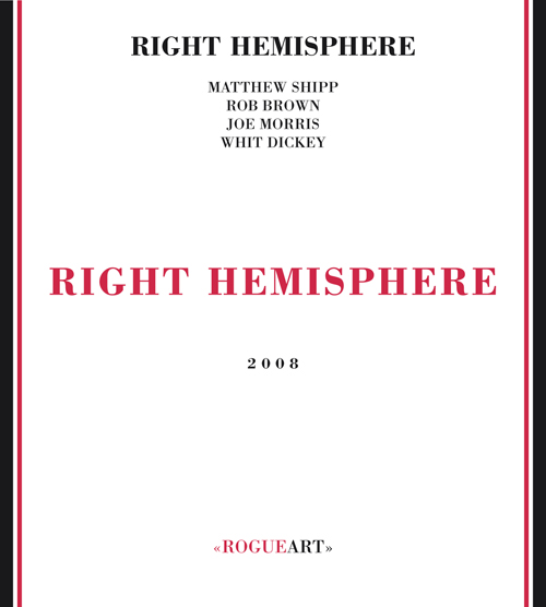 Front cover of the album RIGHT HEMISPHERE