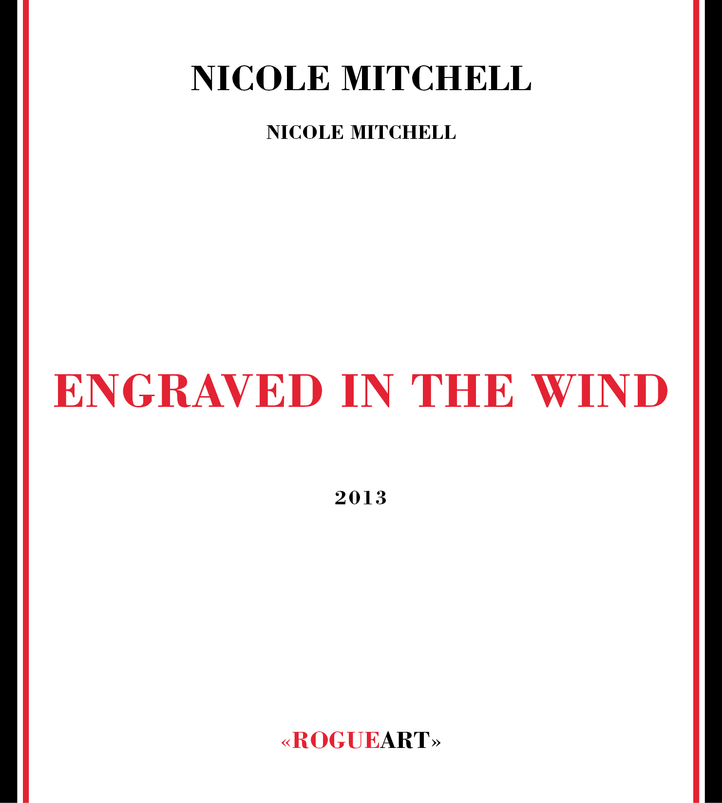 Front cover of the album ENGRAVED IN THE WIND