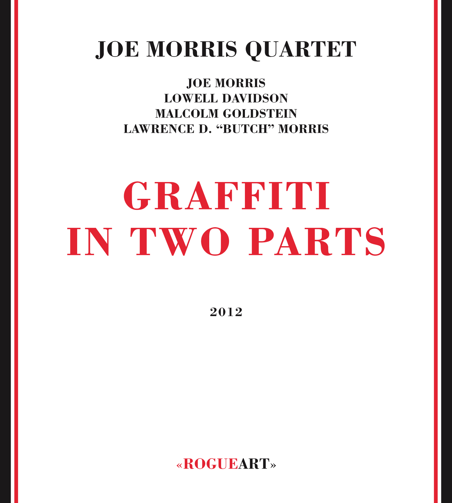 Front cover of the album GRAFFITI IN TWO PARTS
