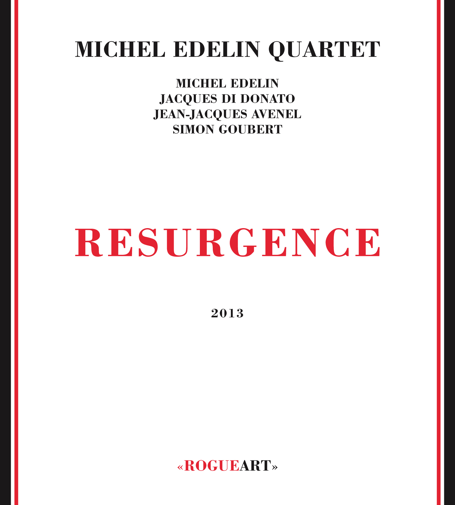 Front cover of the album RESURGENCE