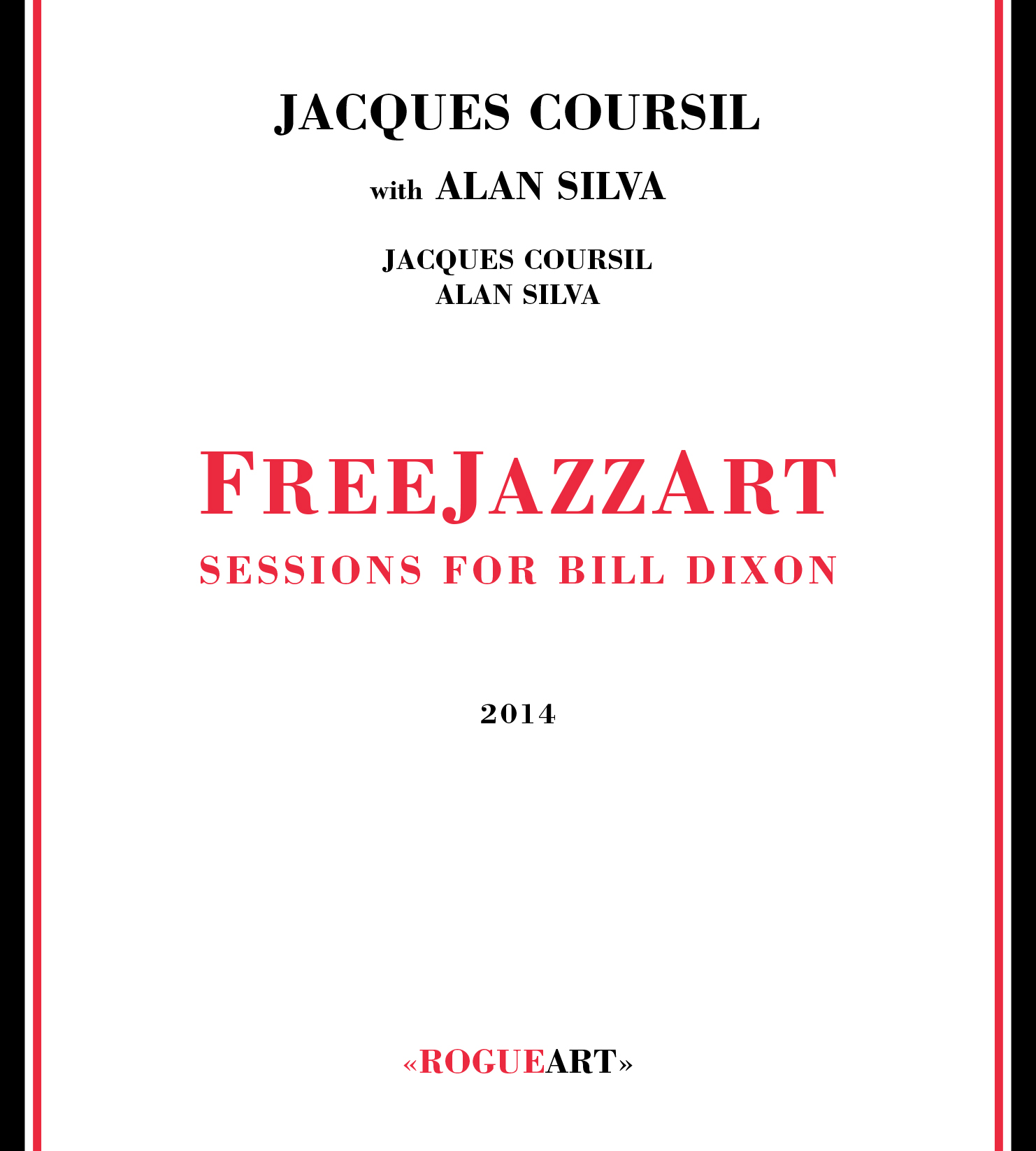 Front cover of the albul FREEJAZZART