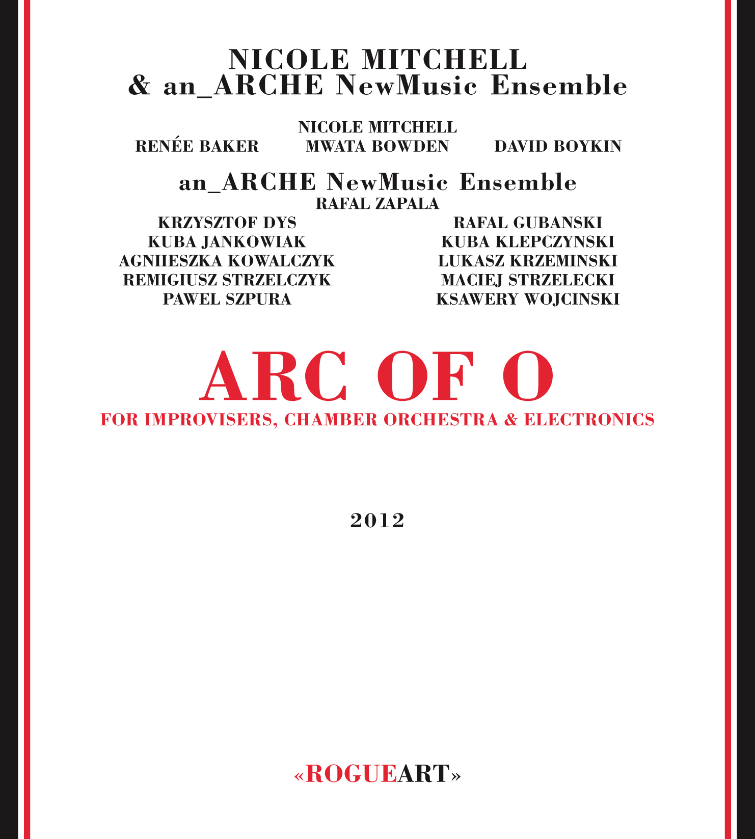 Front cover of the album ARC OF O