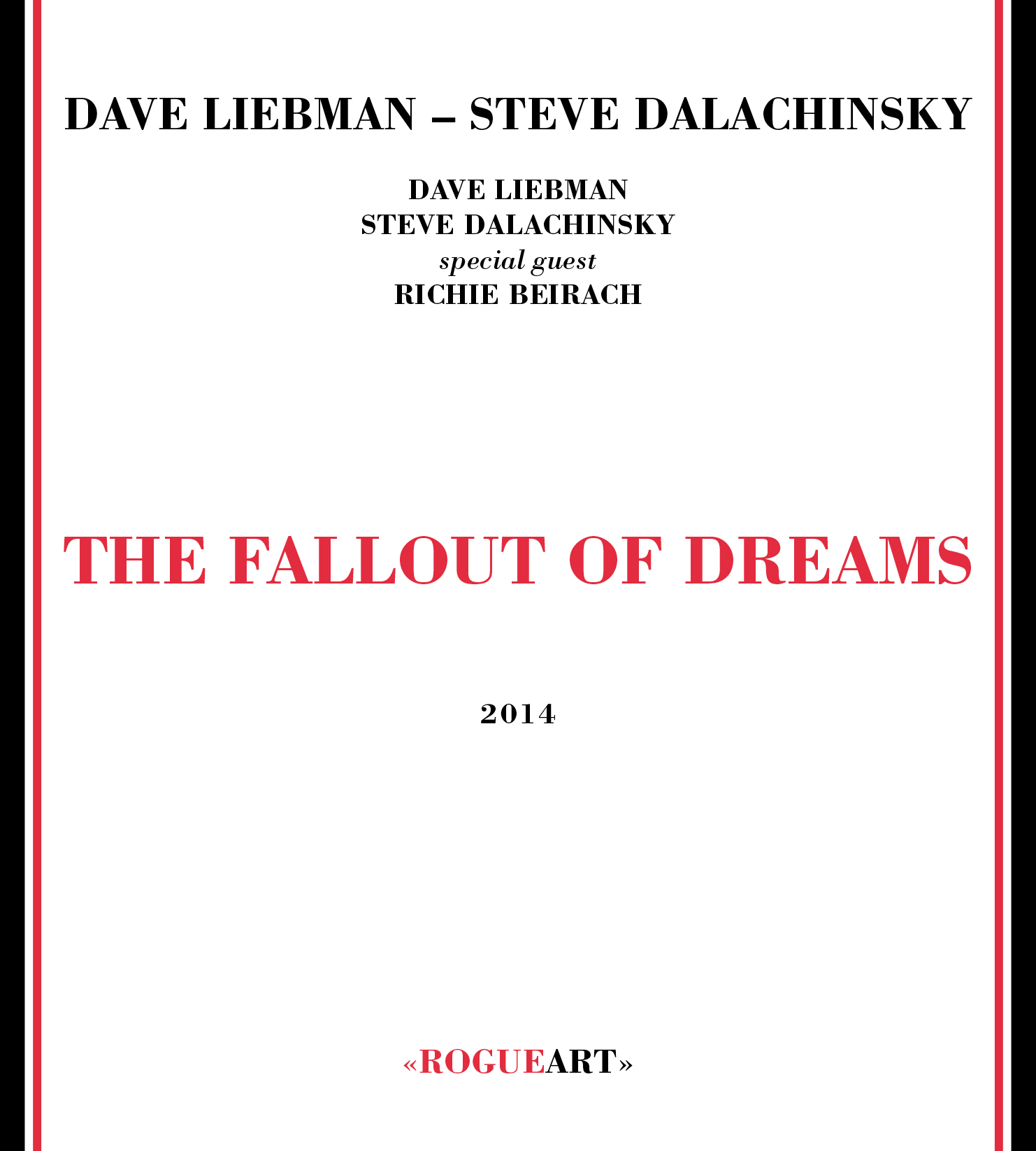 Front cover of the album THE FALLOUT OF DREAMS