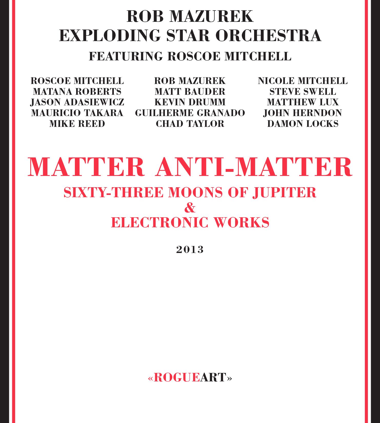 Album Front Cover MATTER ANTI-MATTER