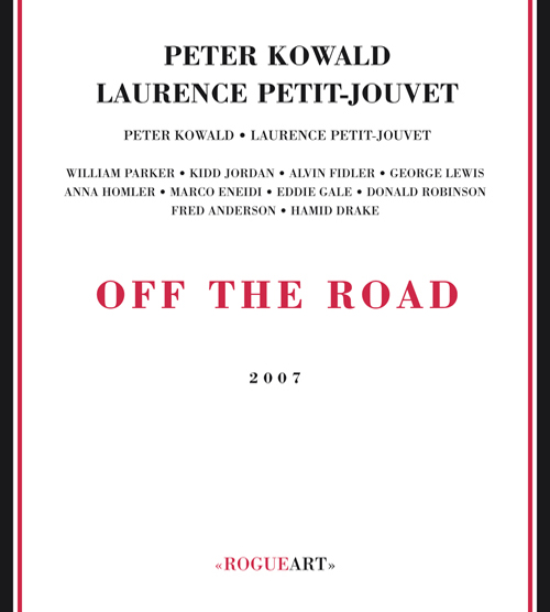 Front cover of the boxset OFF THE ROAD