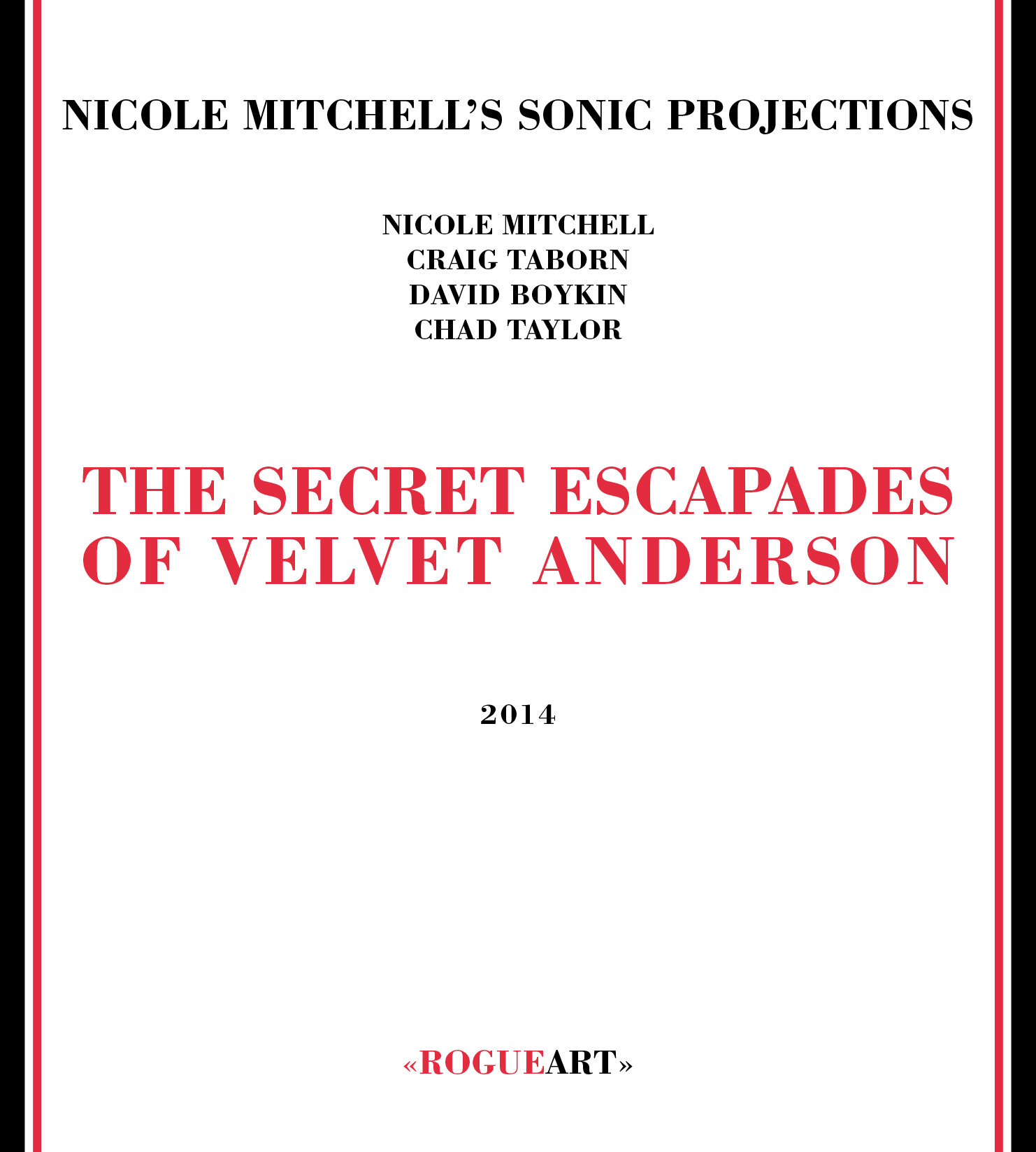 Front cover of the album THE SECRET ESCAPADES OF VELVET ANDERSON