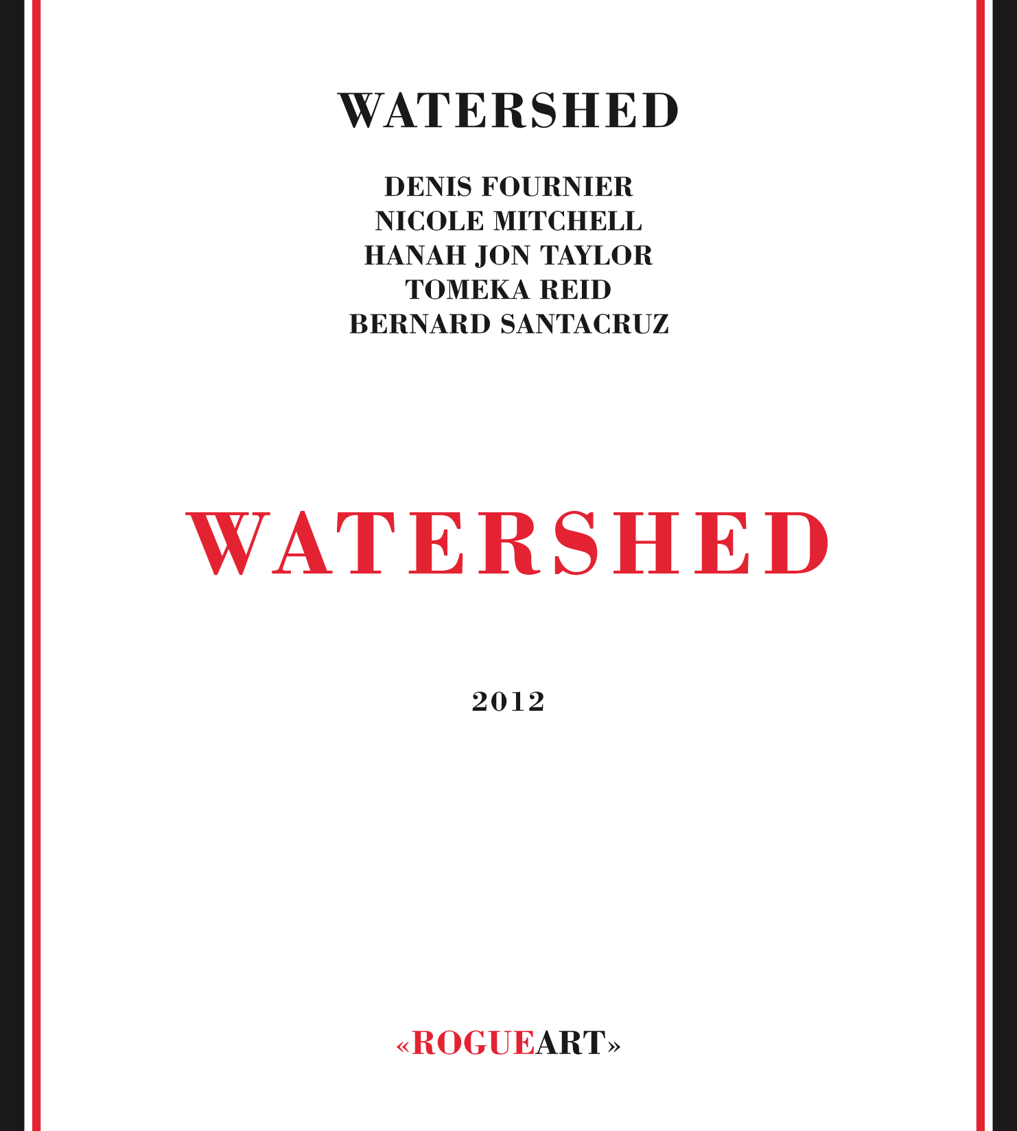 Front cover of the album WATERSHED