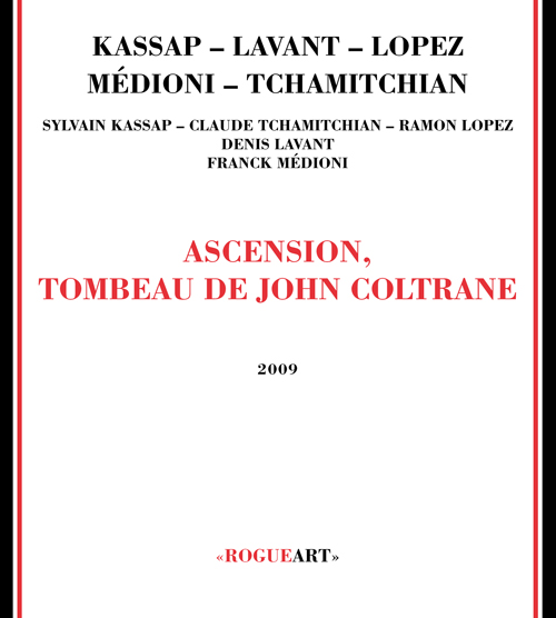 Front cover of the album ASCENSION, TOMBEAU DE JOHN COLTRANE