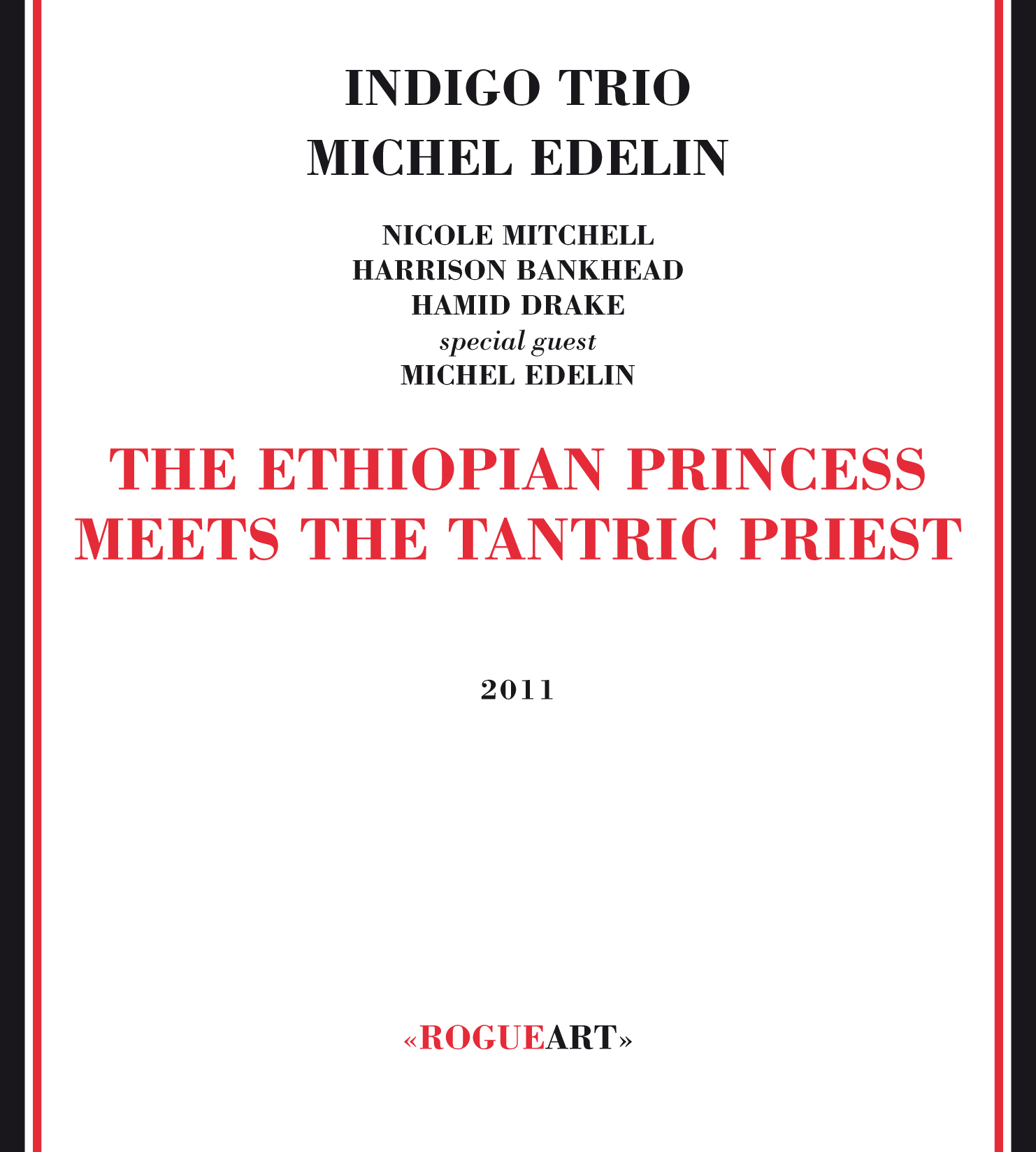 Front cover of the album THE ETHIOPIAN PRINCESS MEETS THE TANTRIC PRIEST