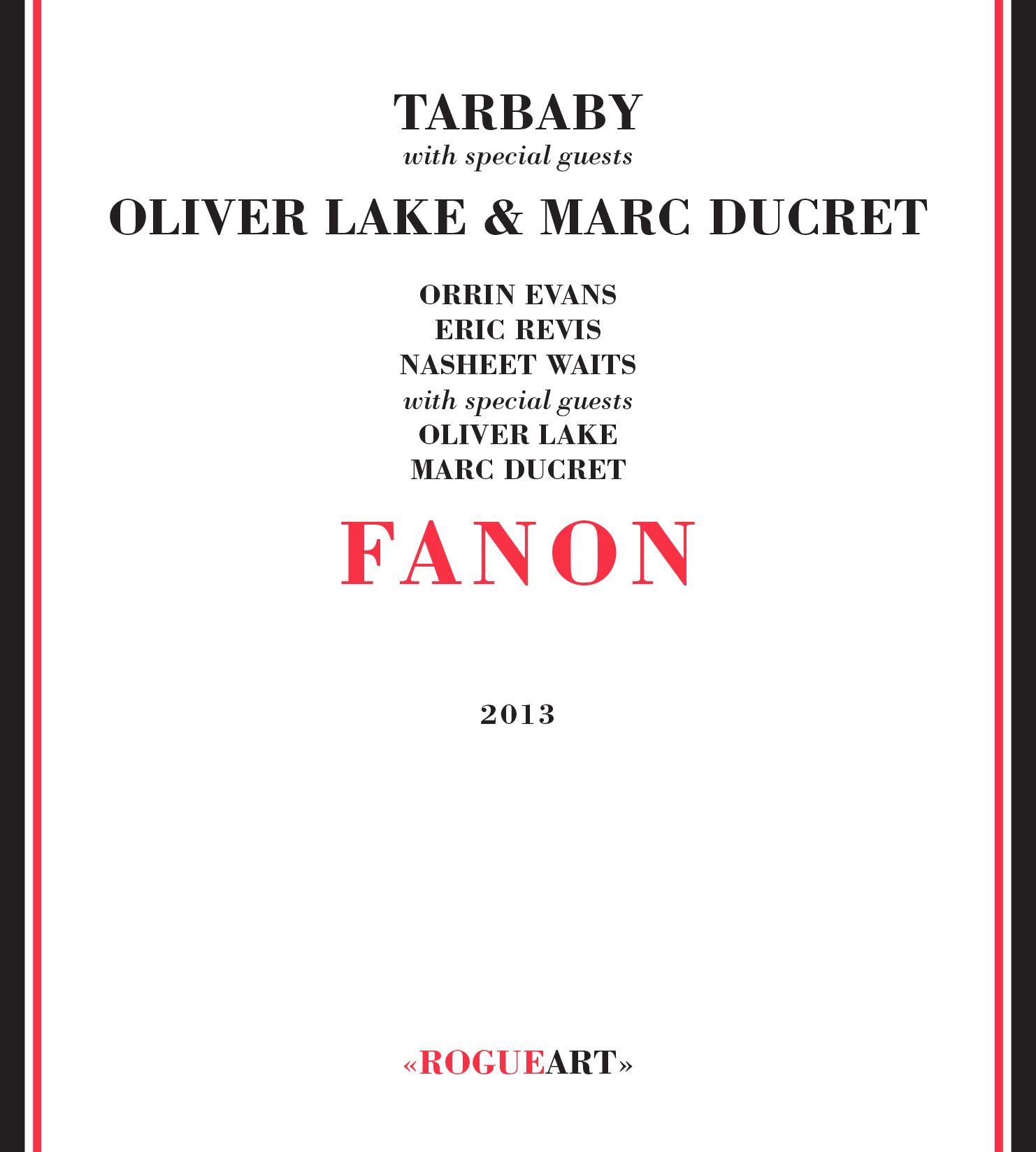 Front cover of the album FANON