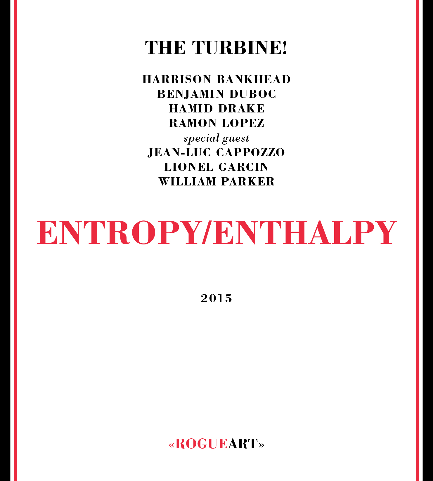 Front cover of the album ENTROPY/ENTHALPY