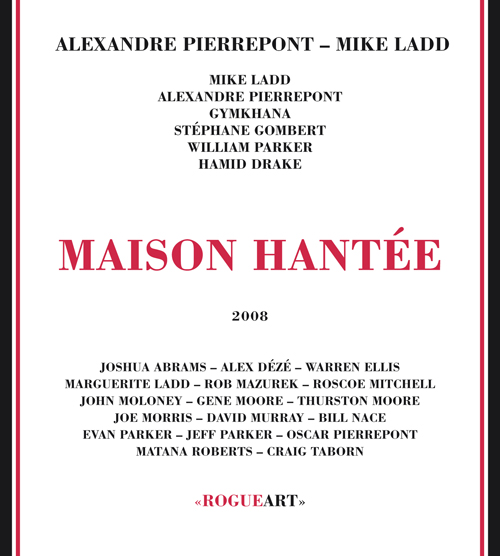Front cover of the album MAISON HANTÉE