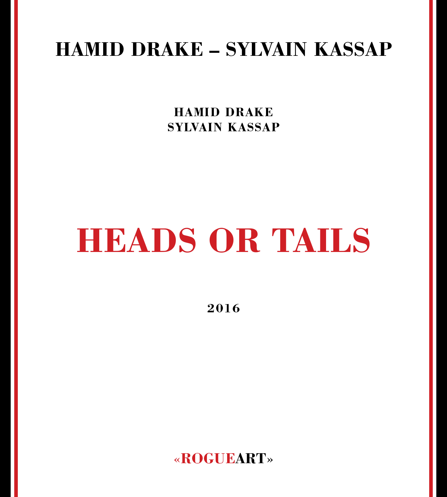 Front conver of the album HEADS OR TAILS
