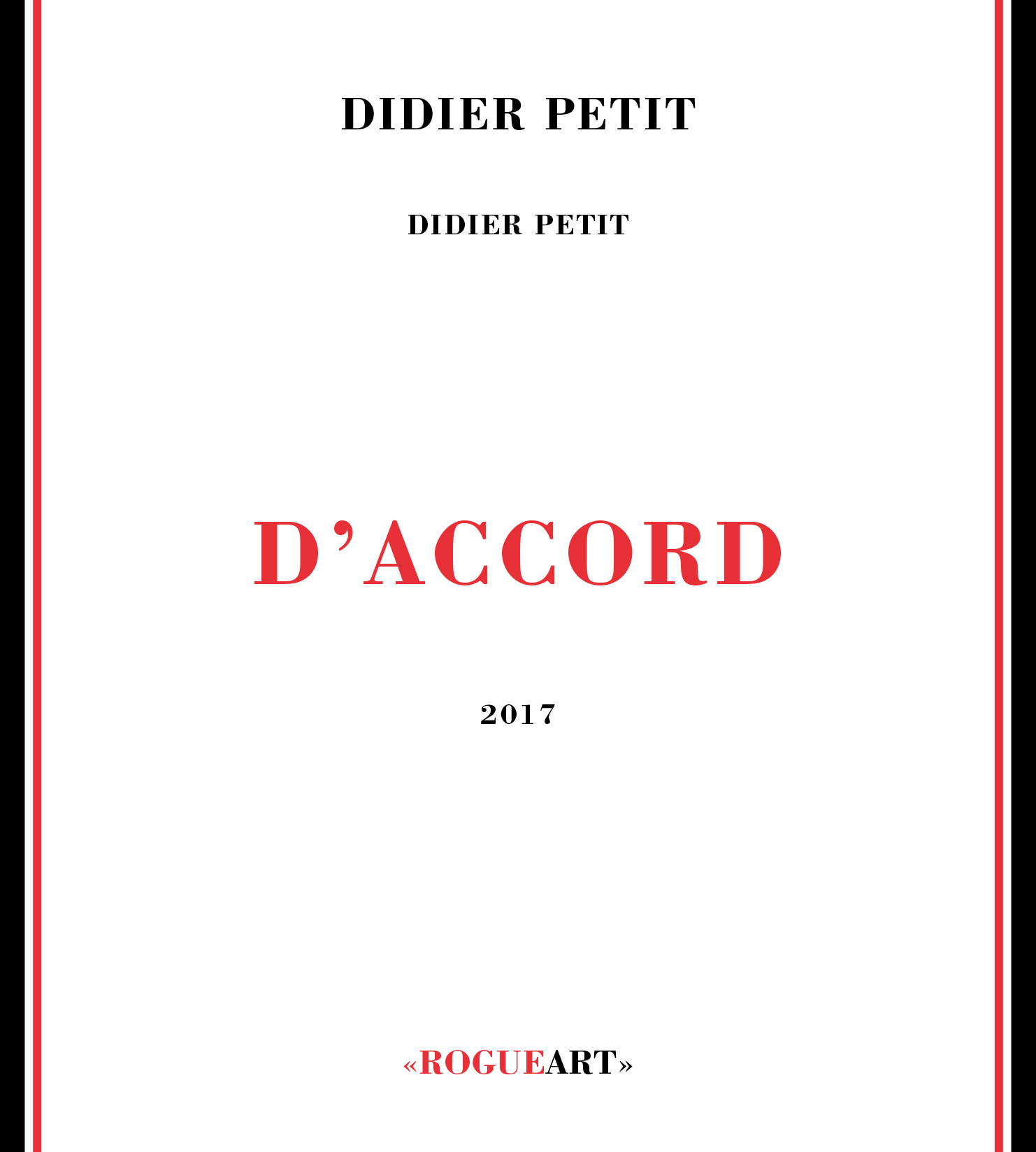 Front cover of the album D'ACCORD