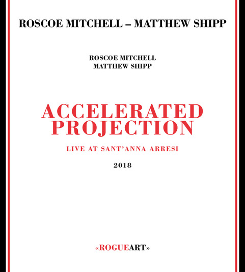 Front cover of the album ACCELERATED PROJECTION