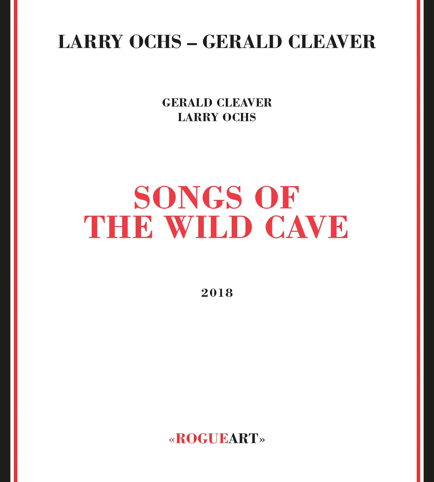 Face of the cover SONGS OF THE WILD CAVE