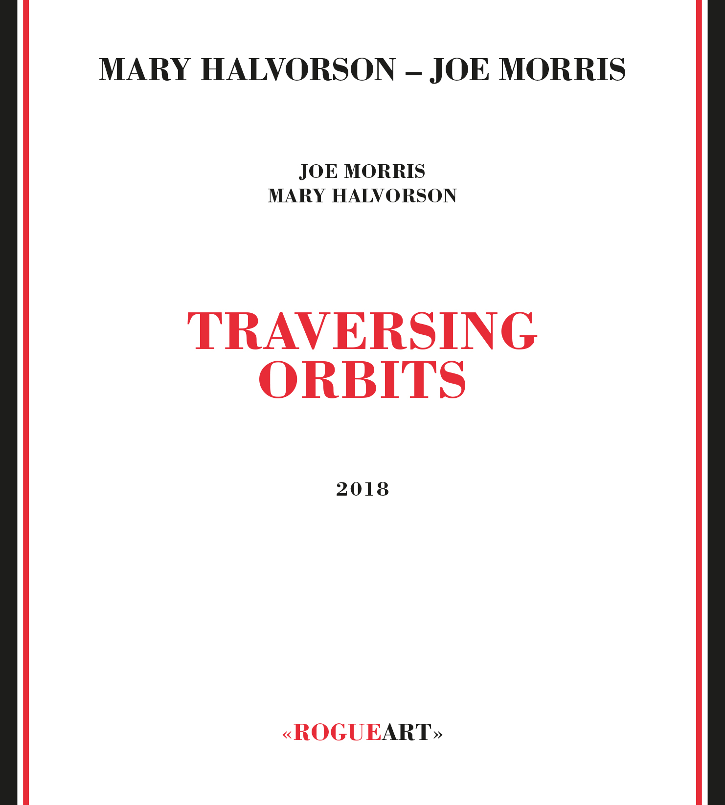 Face of the cover TRAVERSING ORBITS