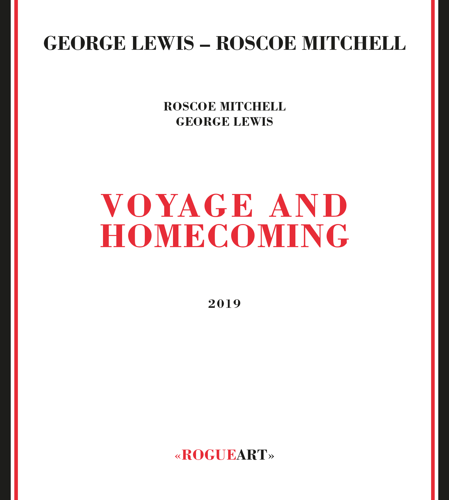 Front cover of the album VOYAGE AND HOMECOMING