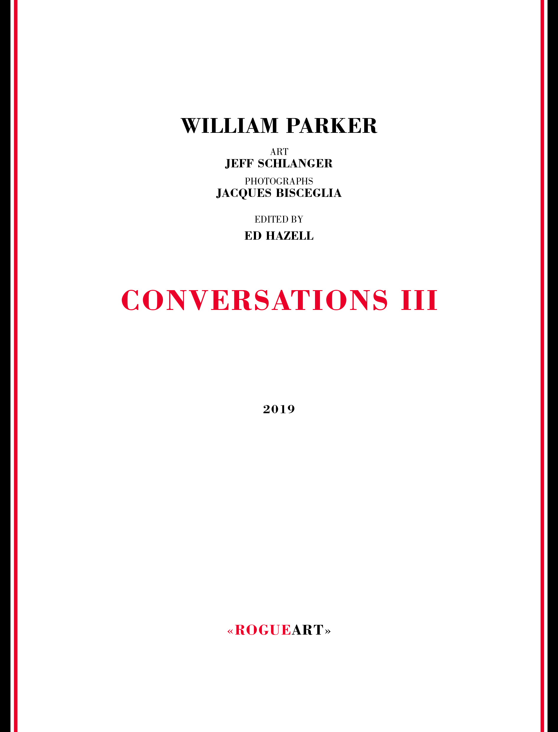 Front cover of the book CONVERSATIONS III