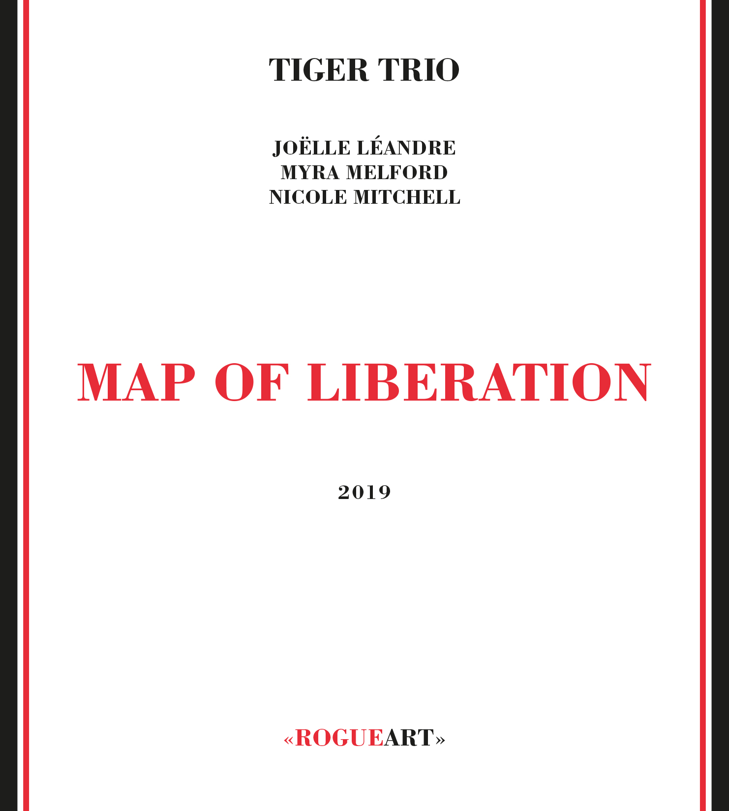 Front cover of the album MAP OF LIBERATION