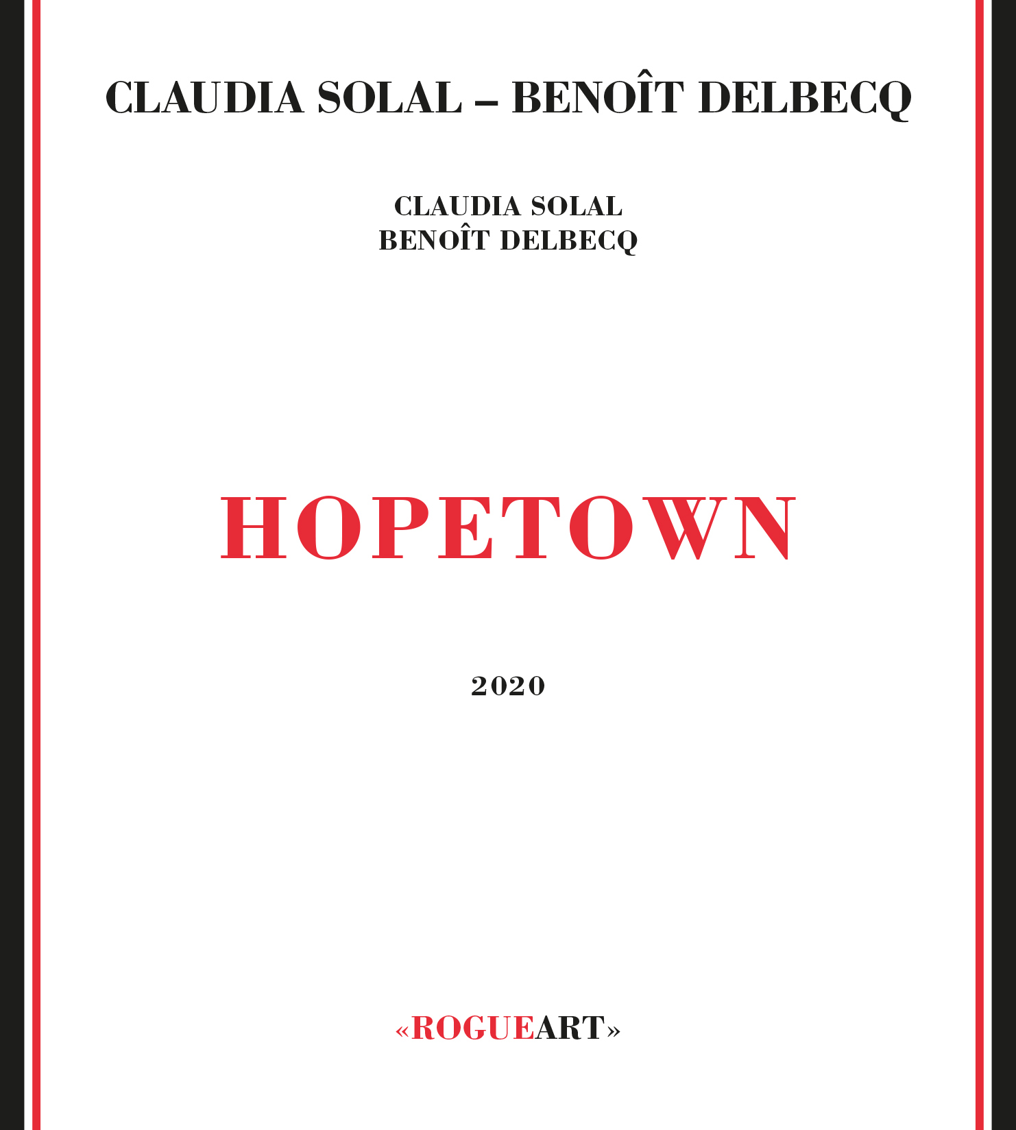 Front cover of the album HOPETOWN