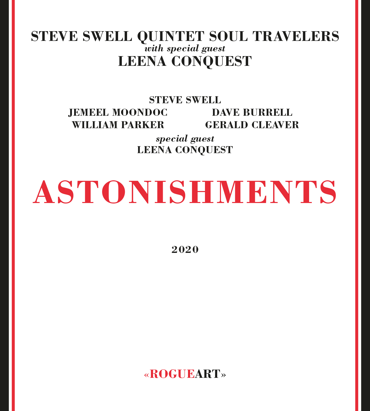 Front cover of the album ASTONISHMENTS