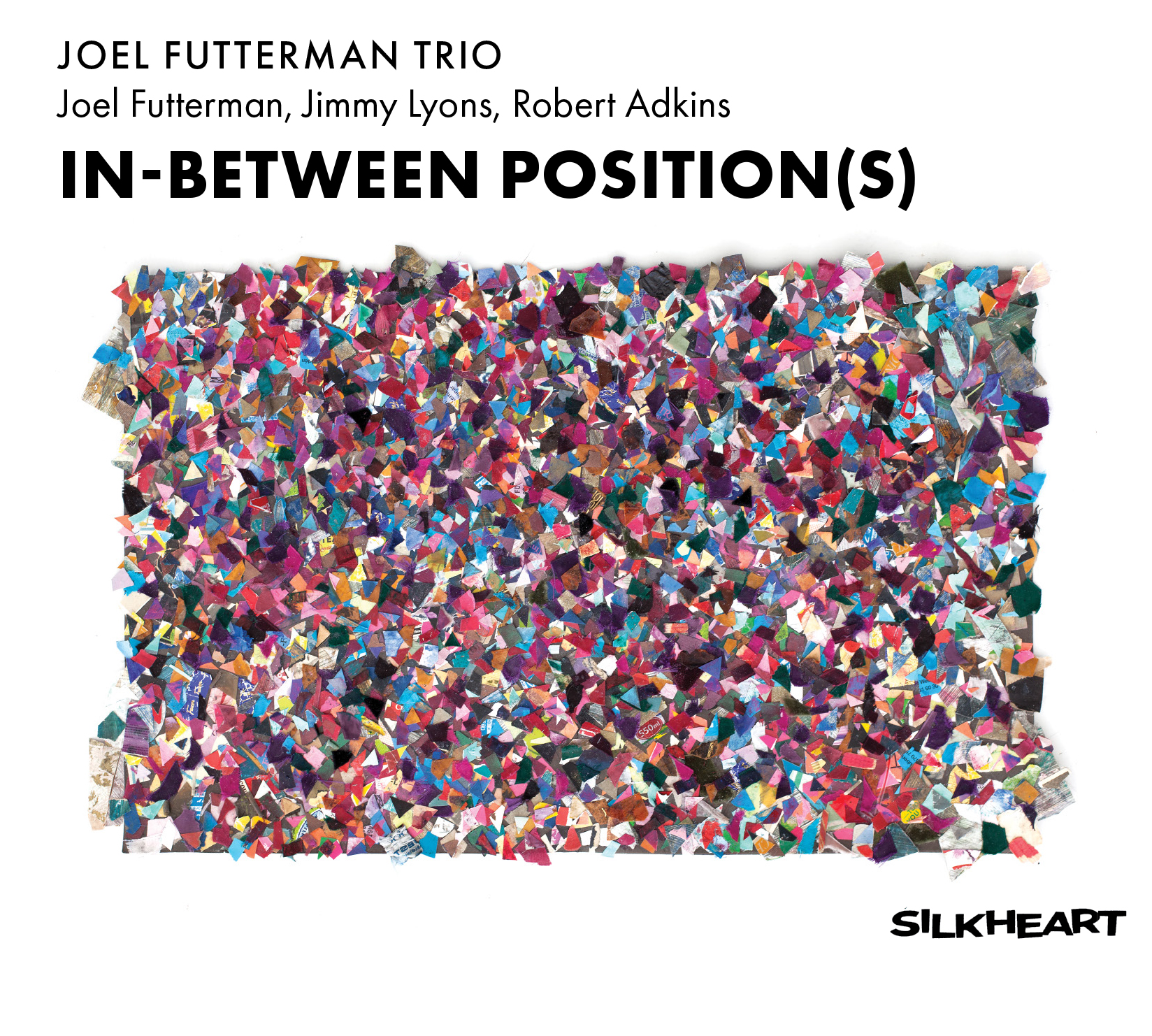 Front cover of the album IN-BETWEEN POSITION(S)