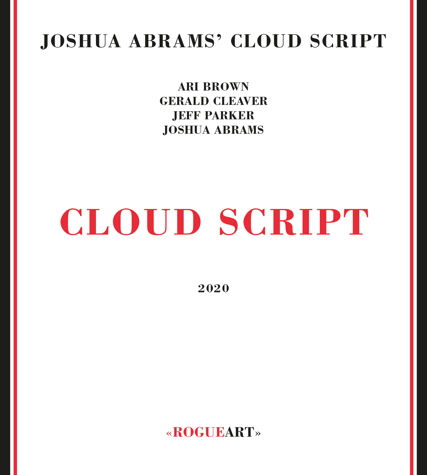 Front cover of the album CLOUD SCRIPT